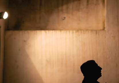 A Moroccan Jew prays at a synagogue in Tetouan. Most Jews left the country in the 1950s and 1960s (photo credit: REUTERS)