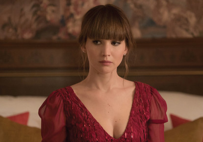 A scene from Red Sparrow  (photo credit: Courtesy)