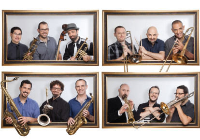 The Israeli Jazz Orchestra (photo credit: RONNY PERL)