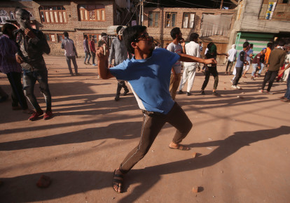India imposes curfews in Kashmir after clashes during