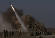Iranian surface to surface missile [file]