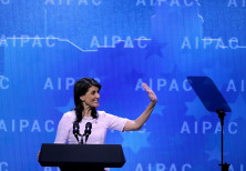 US Ambassador to the UN Nikki Haley addresses AIPAC, March 2018