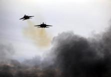 Israeli Air Force F15 planes.