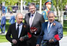 ussian President Vladimir Putin, Prime Minister Benjamin Netanyahu and Serbian President Aleksandar