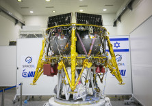 SpaceIL's lander - SpaceIl is an Israeli nonprofit, established in 2011, that was competing in the G