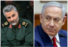 Quassem Soleimani (L) and Benjamin Netanyahu (R)