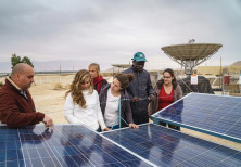 STUDENTS AT the USAID-funded Arava Institute for Environmental Studies, located on Kibbutz Ketura
