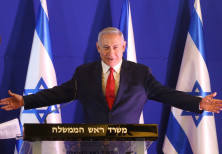 Prime Minister Benjamin Netanyahu at a press conference, February 19th, 2019