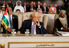 Palestinian President Mahmoud Abbas attends the 30th Arab Summit in Tunis, Tunisia March 31, 2019