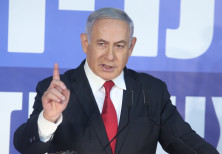 Benjamin Netanyahu at a press conference, February 28th, 2019
