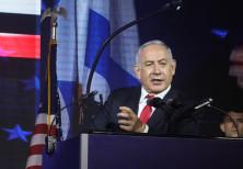 Prime Minister Benjamin Netanyahu at American Independence Day celebration in Jerusalem July 2019