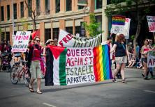 Queers Against Israeli Apartheid at Edmonton Pride Parade 2011