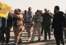 Popular Mobilization Forces with Iranian advisors during Hawija offensive in 2017