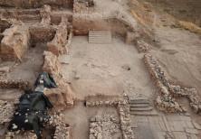 The archeological site at Tel Hazor