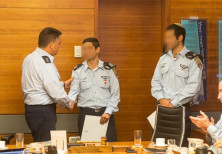 Pilots of F-15 jet involved in training accident awarded certificate by IAF Commander