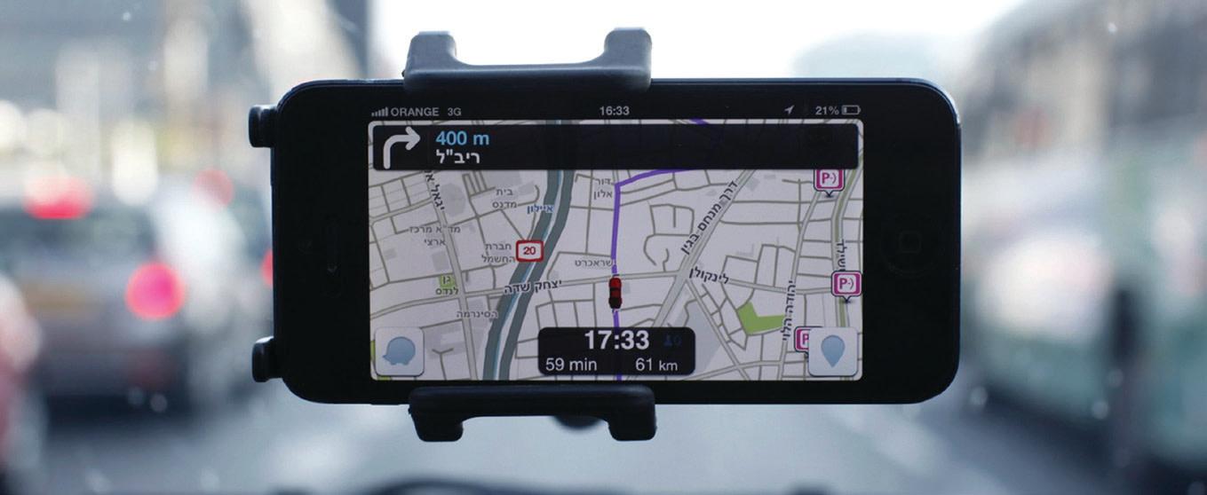 Waze, an Israeli mobile satellite navigation application, has revolutionized driving (Reuters)