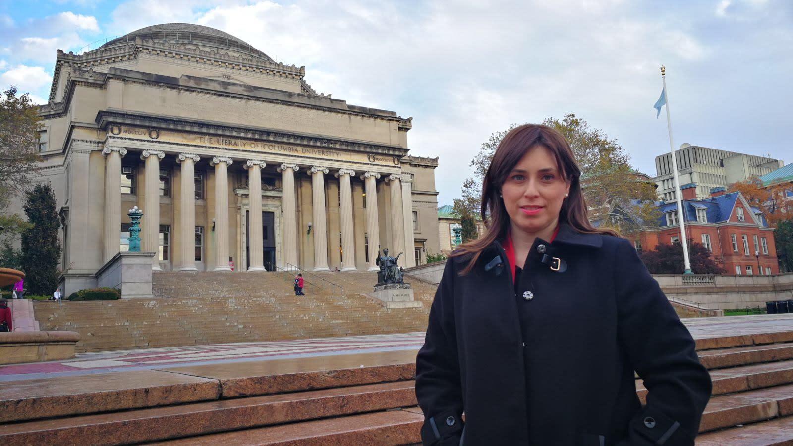Deputy Foreign Minister Tzipi Hotovely pictured at Columbia University. (photo credit: Courtesy)