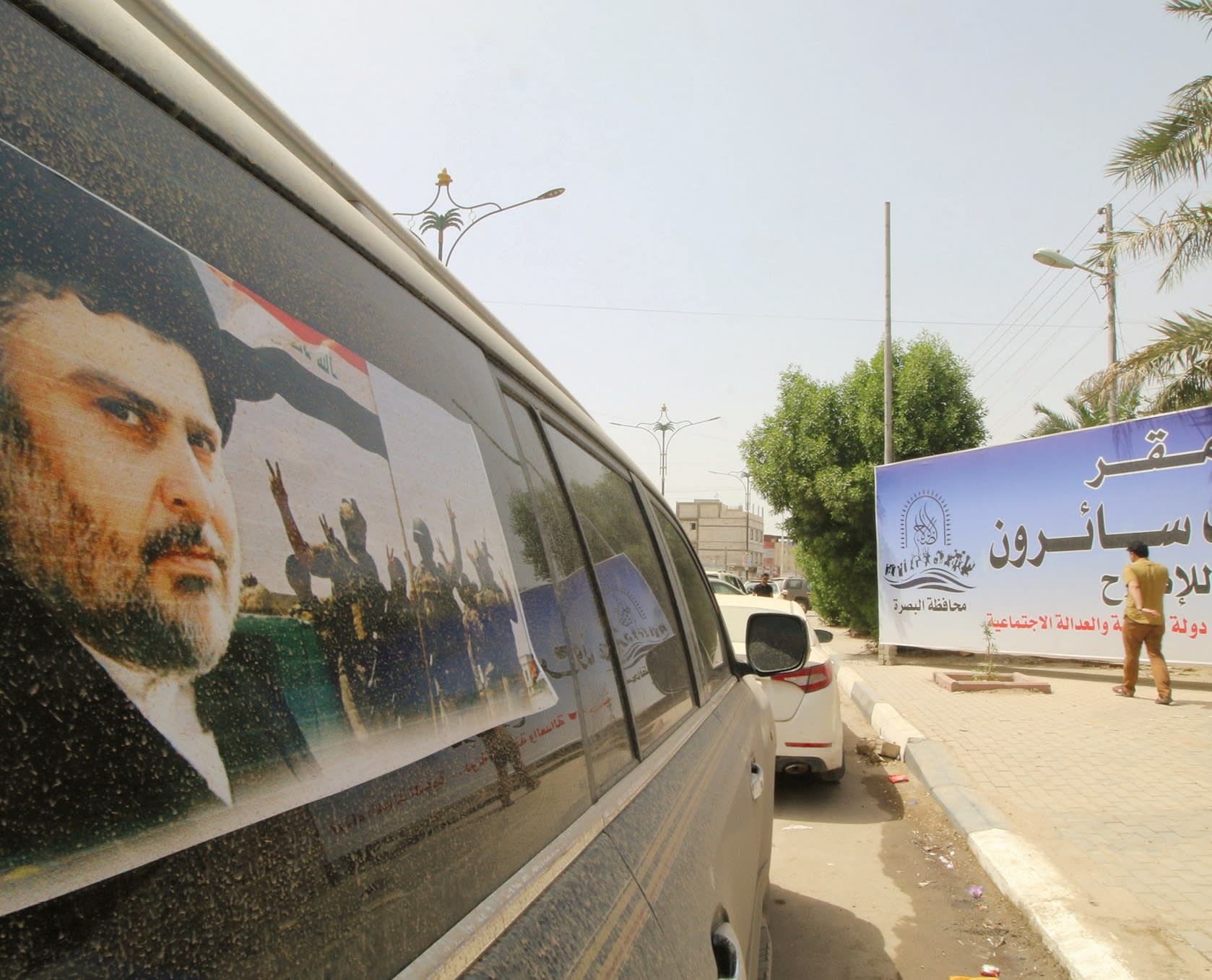 MOQTADA AL-SADR won the largest number of seats in Iraq's parliament (Reuters)