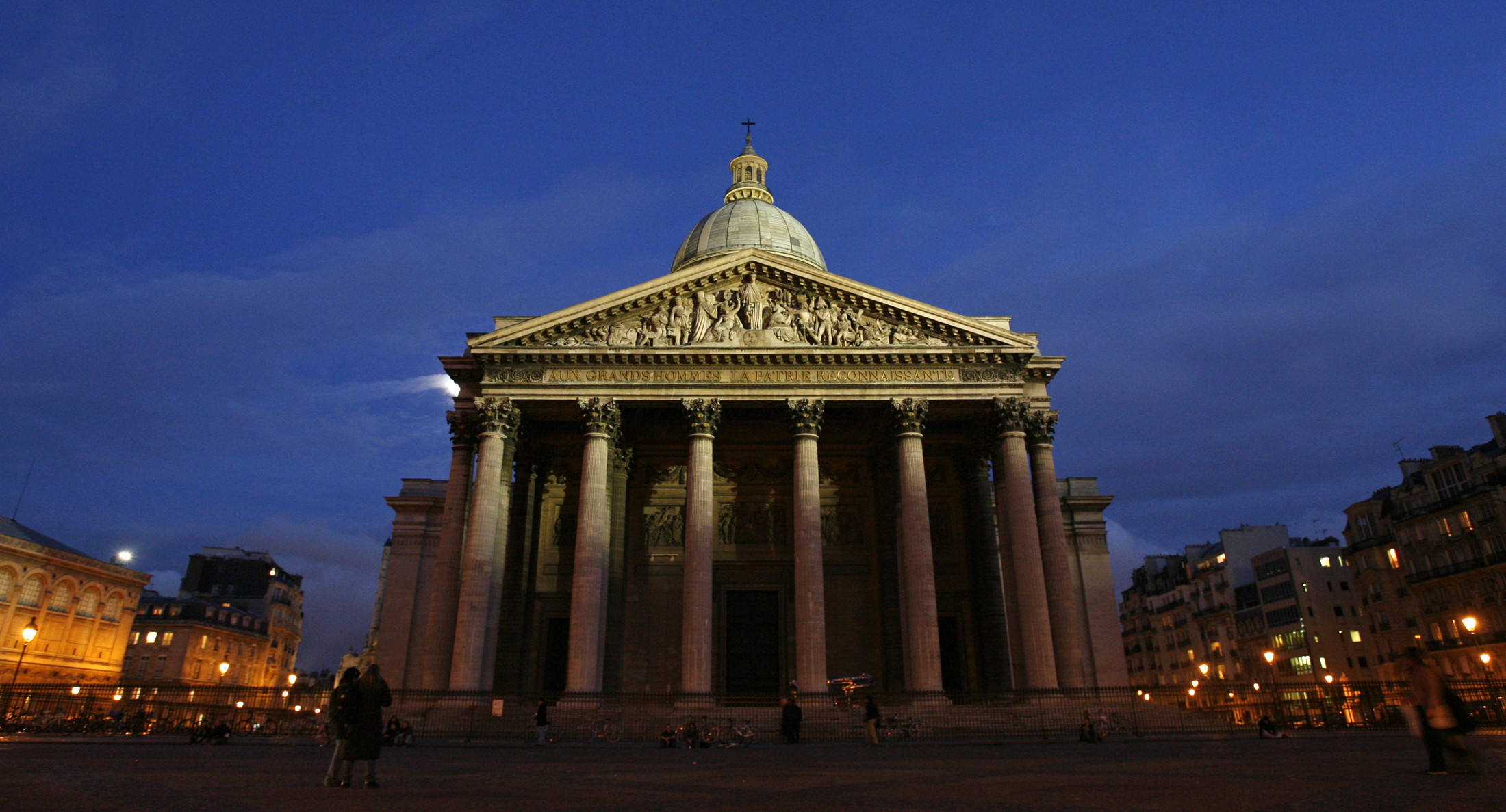 General view of the Pantheon in Paris (Reuters)