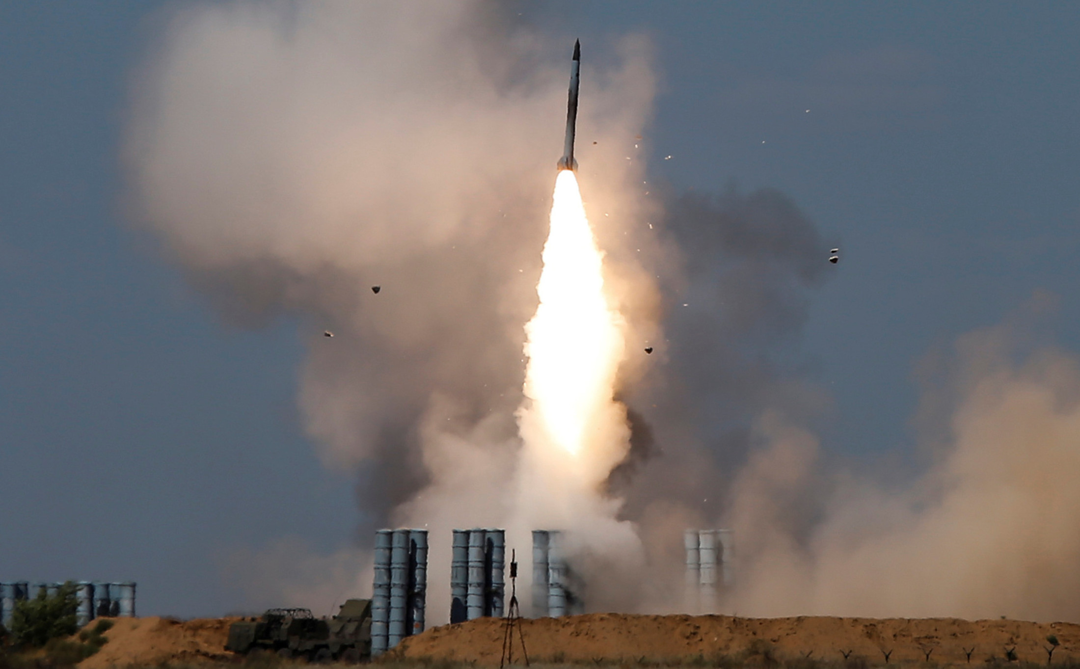 Israel Says Iranians in Syria Fired Missiles at Golan Heights Base
