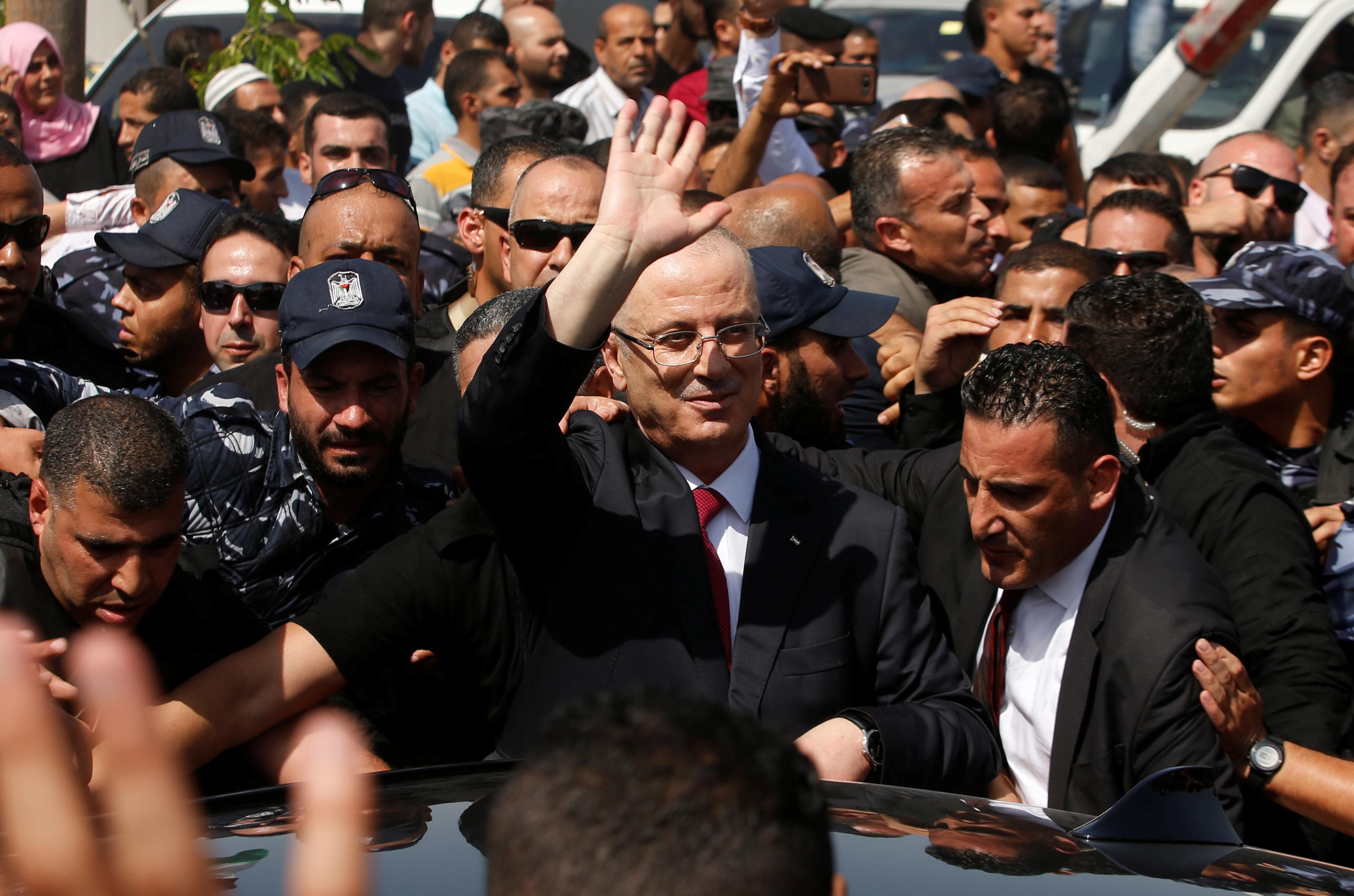 Palestinian Prime Minister Rami Hamdallah (Reuters)