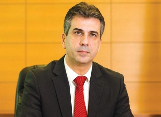 Economy Minister Eli Cohen (Courtesy)