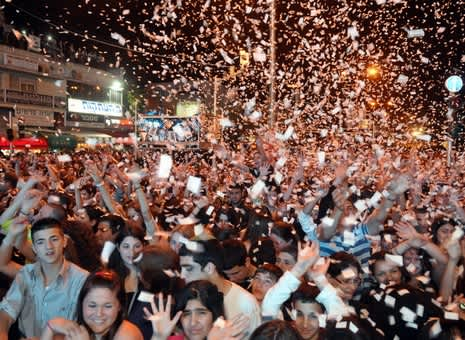 Haifa Street Party for Yom Haatzmaut
