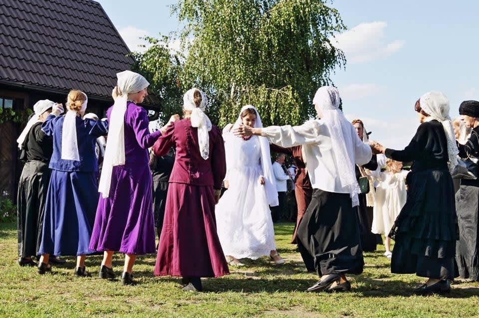 Jewish wedding recreated in Radzanow, Poland. (credit: JONNY DANIELS)