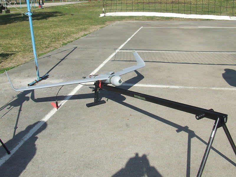 "Drone ""Orbiter"" of Serbian army manufactured by Aeronautics Defense Systems. (Wikimedia Commons)"