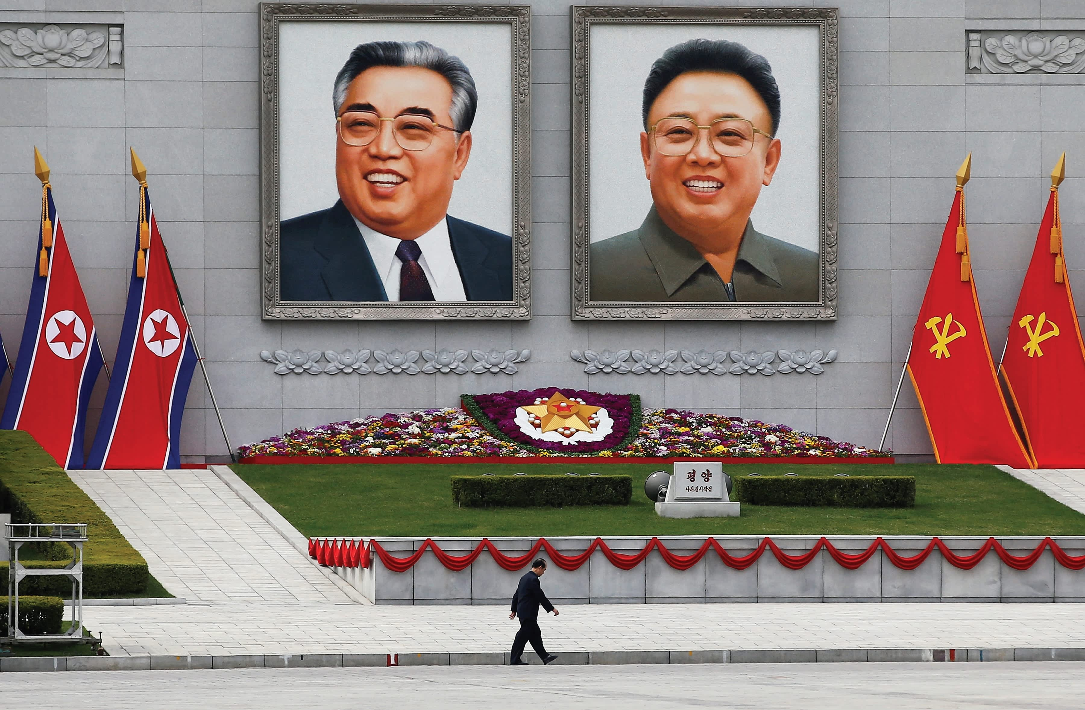 Propaganda in North Korea (REUTERS)