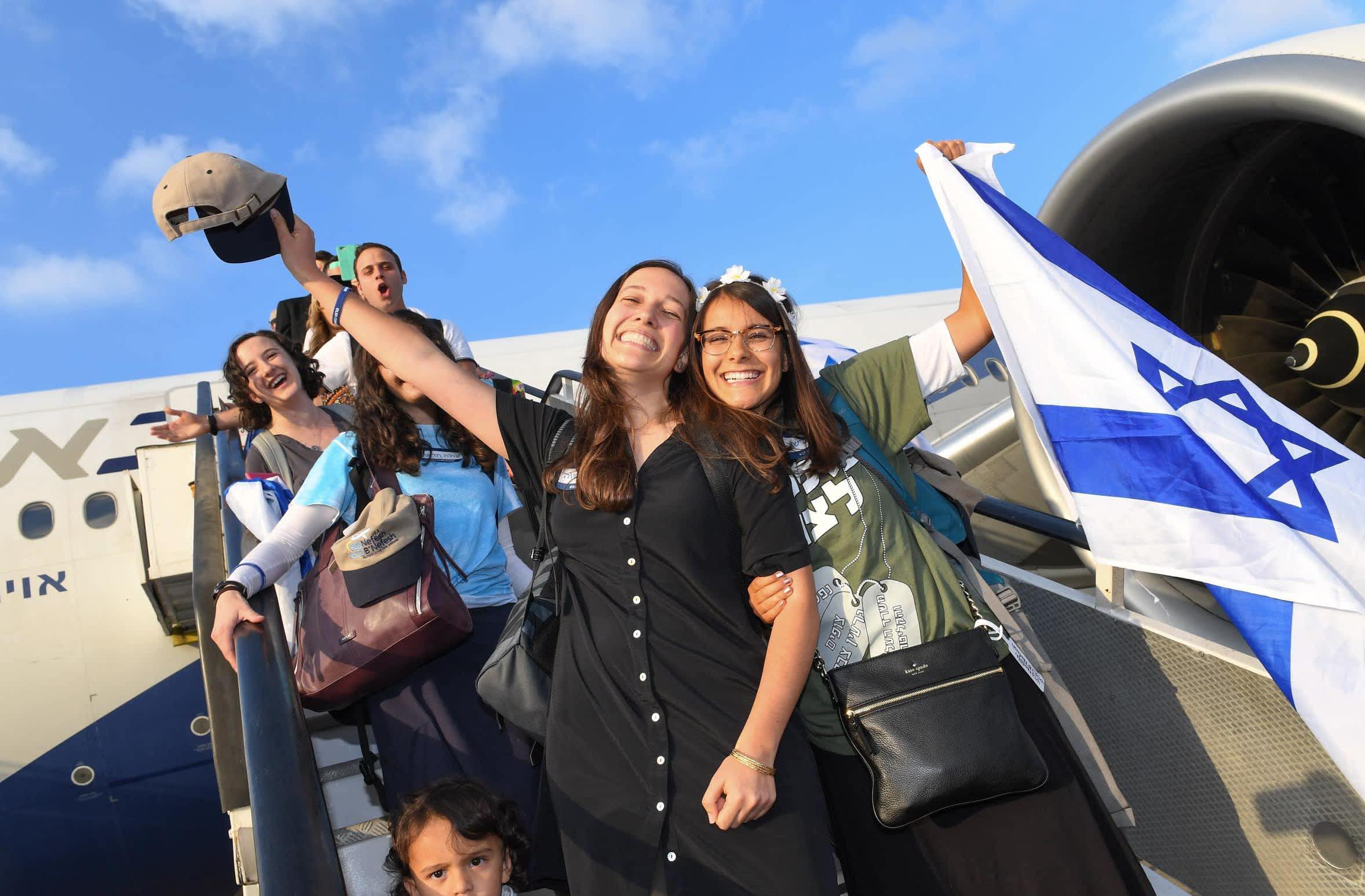 US Ambassador to Israel David Friedman's makes aliya (Shahar Azran)