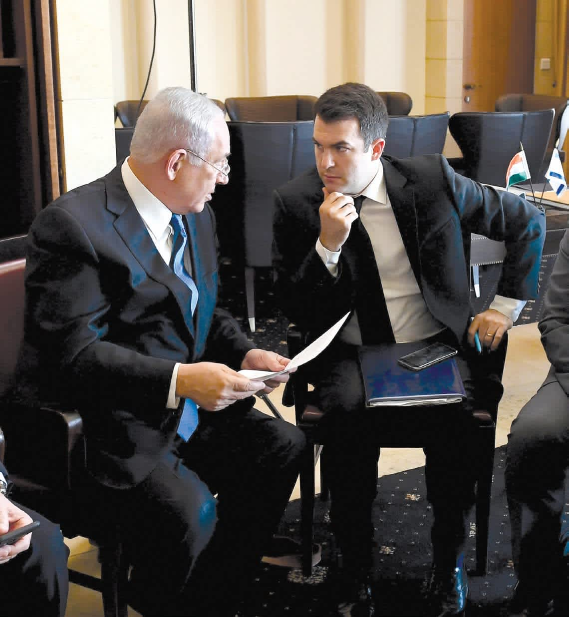 DAVID KEYES helps Prime Minister Benjamin Netanyahu take a more proactive approach to social media. He made aliya in 2006 from Los Angeles. (Haim Zach/GPO)