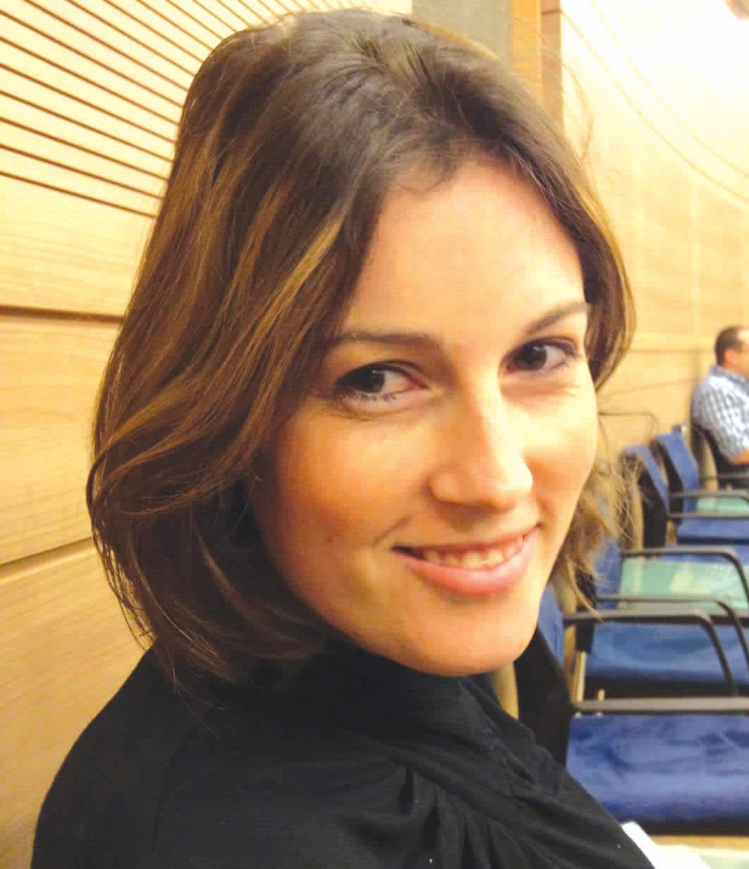 RACHEL GUR is an adviser to Environmental Protection Minister Ze'ev Elkin (Likud) and is thought to be the only female native English speaking adviser to a cabinet minister. She made aliya at age 17 from Baltimore. (Courtesy)