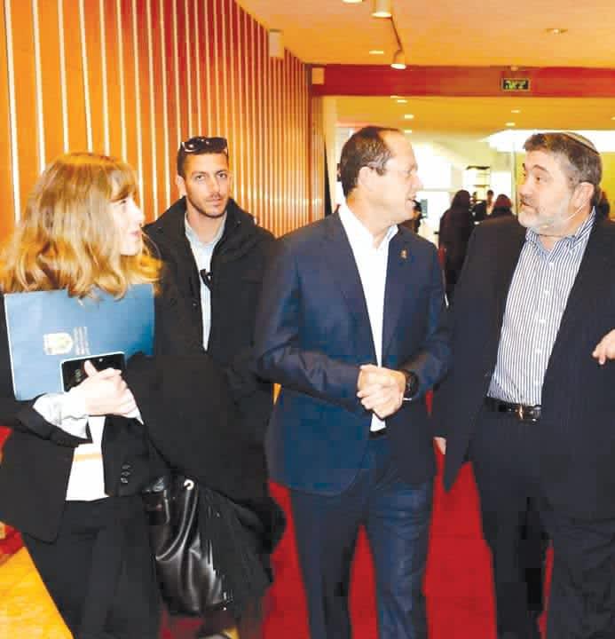 FRAYDA LEIBTAG (left) is the senior adviser for international affairs and media for Jerusalem Mayor Nir Barkat. She made aliya from Passaic, New Jersey, in 2003. (Frayda Leibtag)