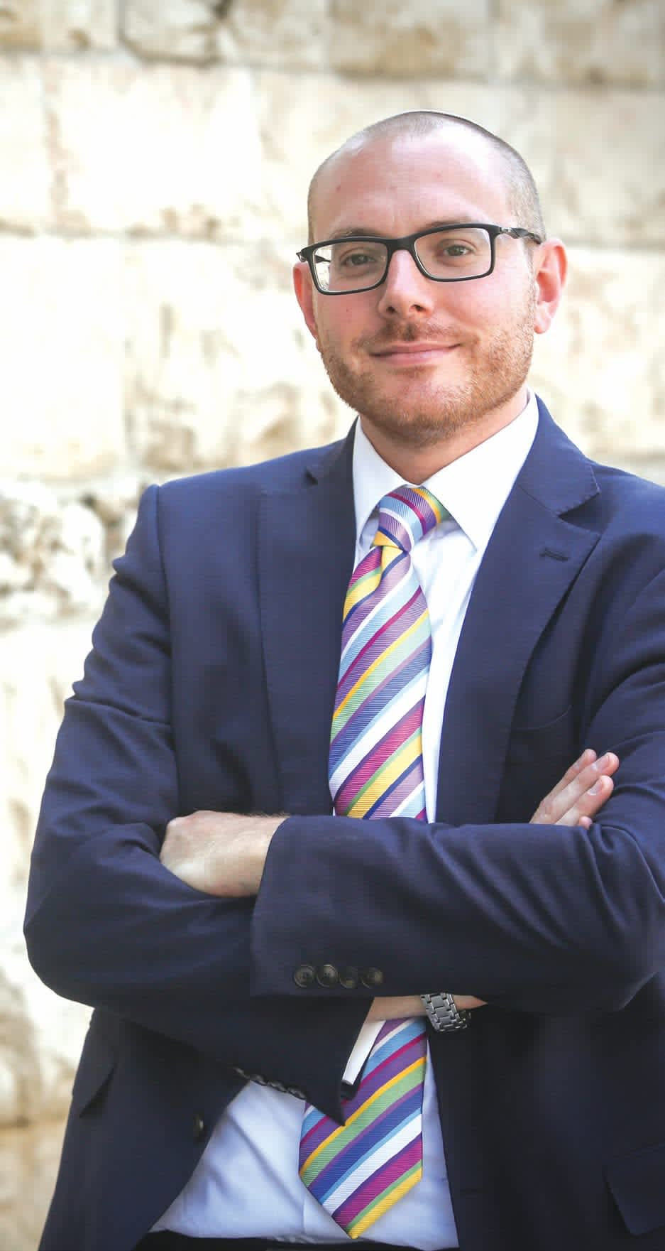 JASON PEARLMAN has served as President Reuven Rivlin's foreign media adviser for three years. He made aliya 10 years ago from England. (Marc Israel Sellem)