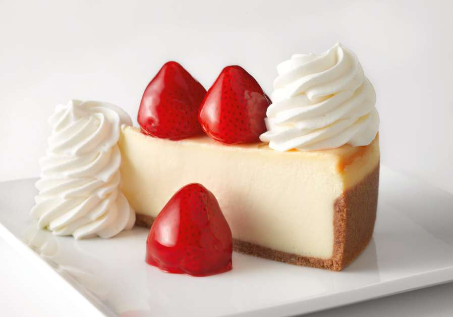 The Cheesecake Factory's Strawberry Cheescake. (Credit: The Cheescake Factory)