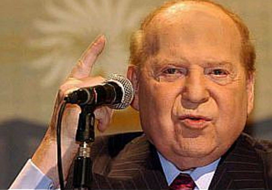 Adelson defends his paper's support of Netanyahu