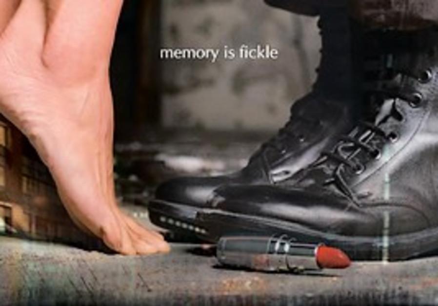 A poster advertising Jonathan Sagall's film Lipsti