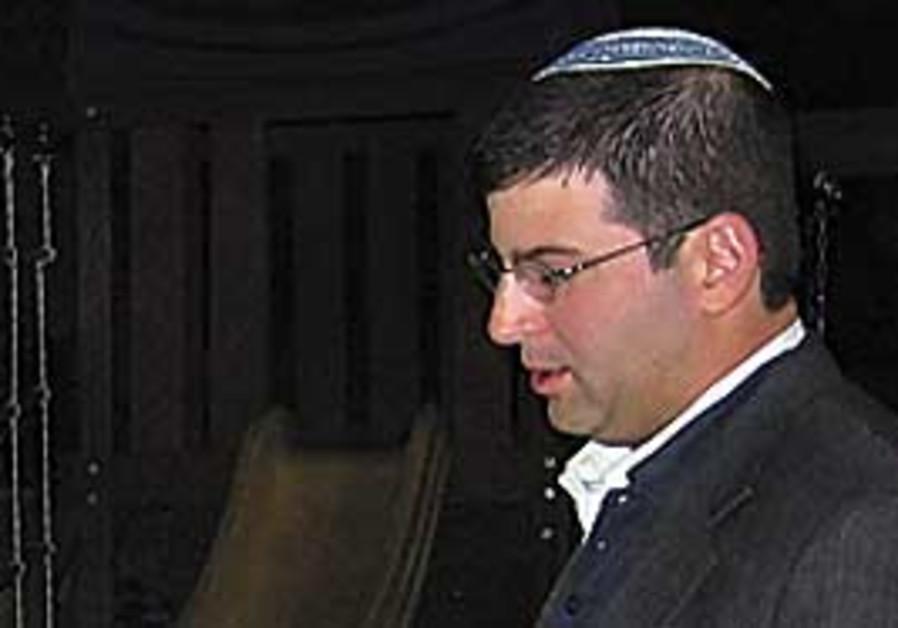 Rabbi Seth Farber.