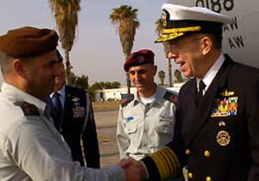 NIDF officer welcomes Adm. Michael Mullen, chairma