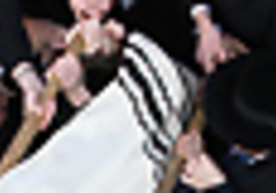 The funeral of Rabbi Porush in Jerusalem.