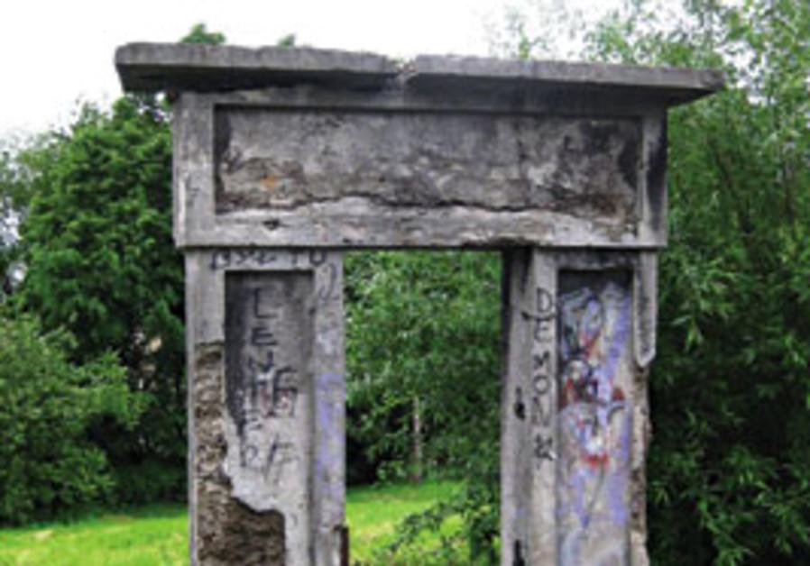 Gate marks entrance to Przemysl cemetery