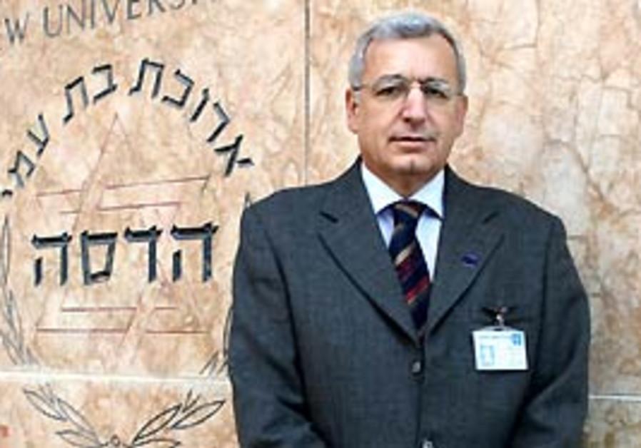 Professor Shlomo Mor-Yosef