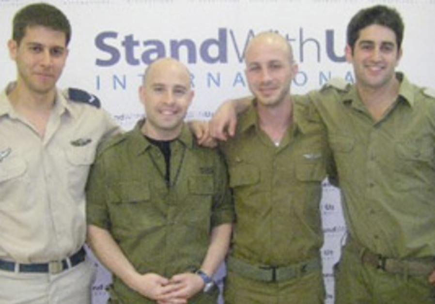 FROM LEFT: Yoav Earon and Avi Webber will be touri