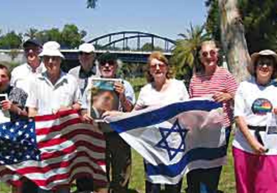 Democrats Abroad-Israel members.