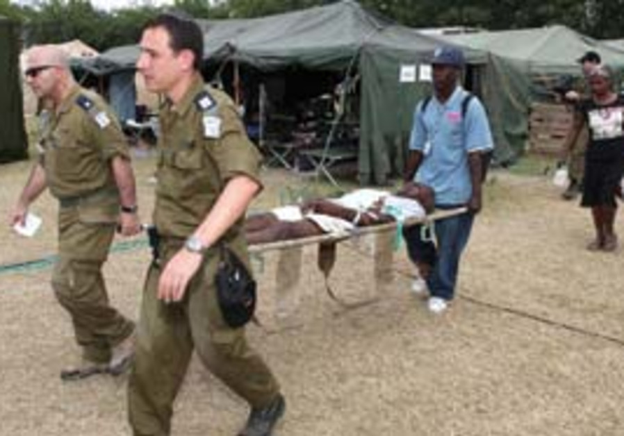 Israelis aid Haitians after the recent earthquake