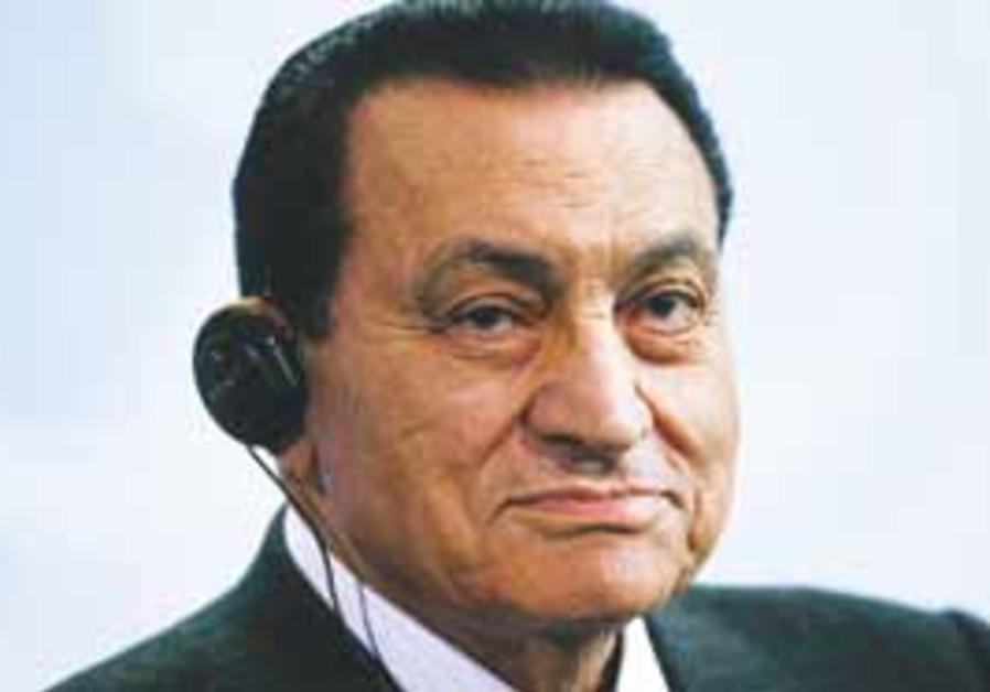 Egyptian President Hosni Mubarak (AP)