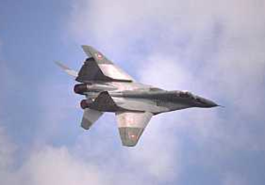 'Russia confirms MiG jet sale to Syria'