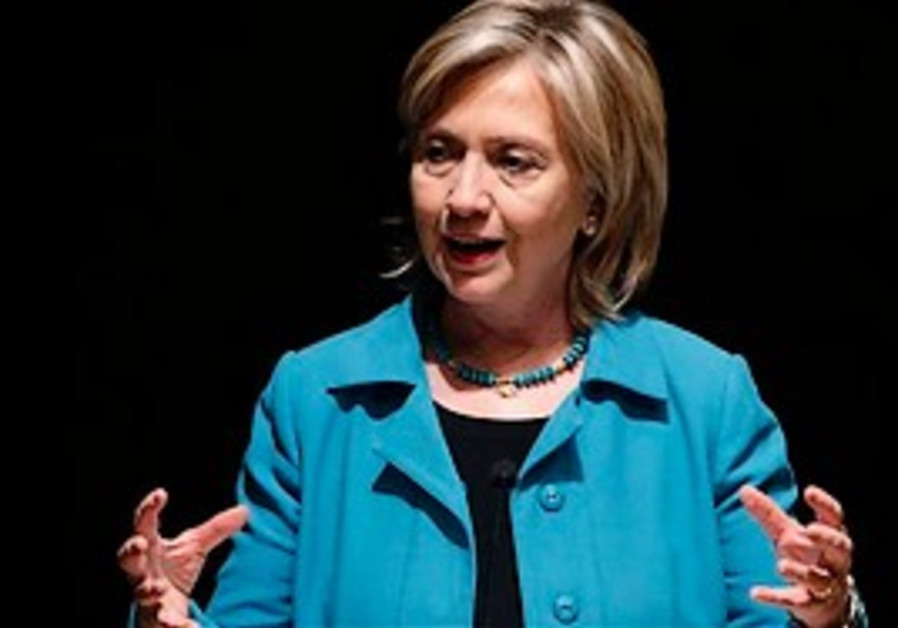US Secretary of State Hillary Rodham Clinton (AP).