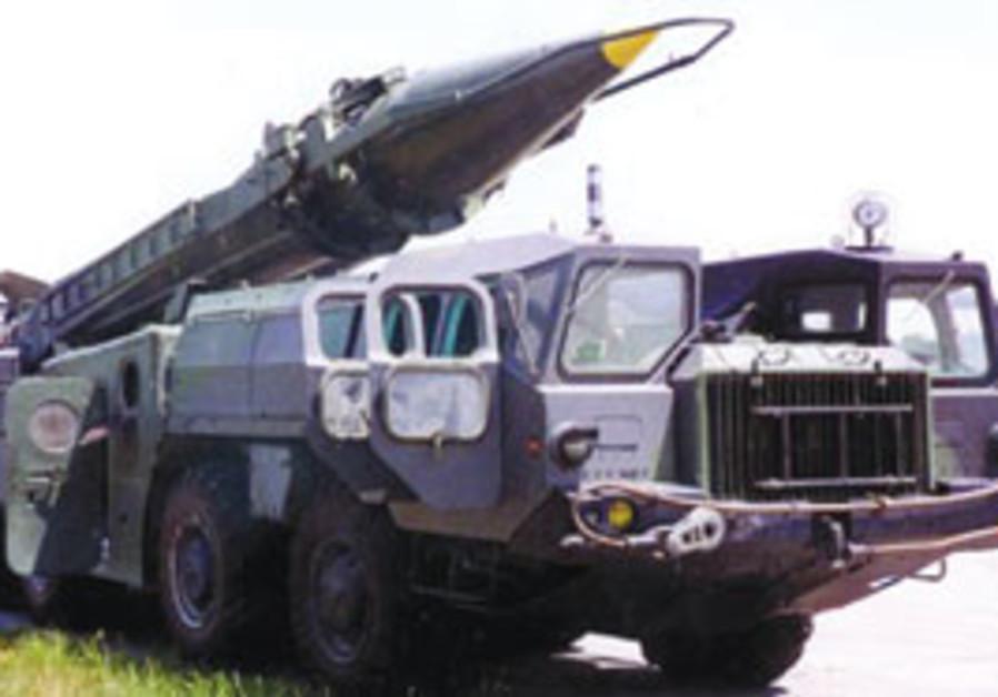 Scud D launcher